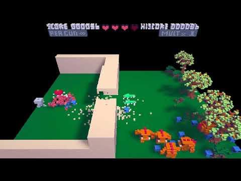 Defent the Caste 1 5 ~ Defent the Castle v1 5 VOXATRON Fantasy Virtual Console Lexaloffle Games www