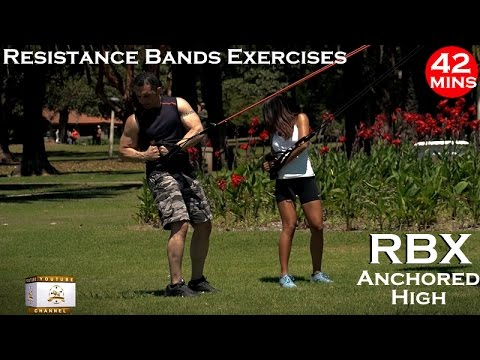 RBX Resistance Bands Exercises & Workout