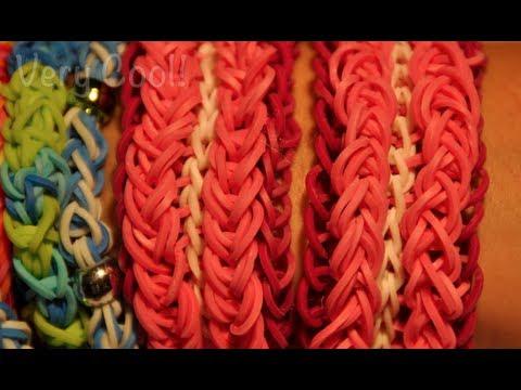 600pcs rainbow rubber band bracelet maker for children DIY
