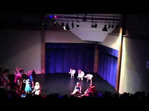 """Joel P Jensen Middle school 2015 advanced dance """"Doll house"""" Dance"""
