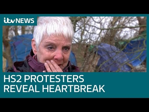 HS2 protesters reveal heartbreak after project given go-ahead | ITV News