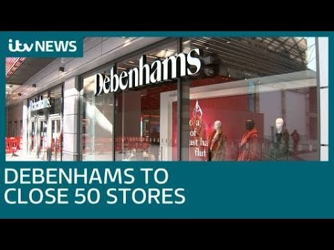 What will happen to the new Fosse Park Debenhams store as 50 closures are announced? | ITV News