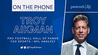 FOX Sports Troy Aikman on Drew Pearson John Lynch s HOF Elections The Rich Eisen Show 2 8 21