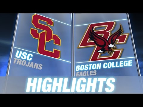 USC vs BC | 2014 ACC Football Highlights