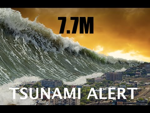 "*Tsunami Alert* following HUGE 7.7M Earthquake in the S Pacific! - Buoys in ""Event Mode"""