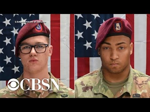 2 U.S. Soldiers Killed In Afghanistan Are Identified