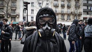 LOI TRAVAIL 24/03/2016 : MANIFESTATION PRE-INSURRECTIONNELLE À PARIS
