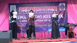 PUISI PERPISAHAN KELAS 9 BERJUDUL BURUNGKU TAHUN 2014/2015 DIJAMIN NGAKAAAKKKK