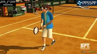 Virtua Tennis 3 - PSP Gameplay 1080p (PPSSPP)