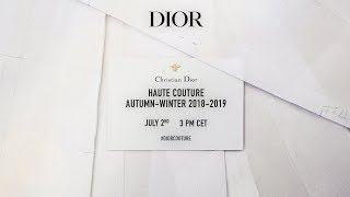 Dior Haute Couture Autumn-Winter 2018-2019 Show