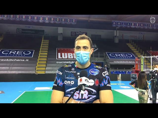 Capitan Atanasijevic rientra e commenta la vittoria di Perugia