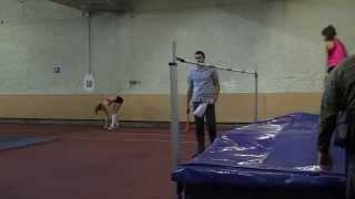 прыжки в высоту девушки 1