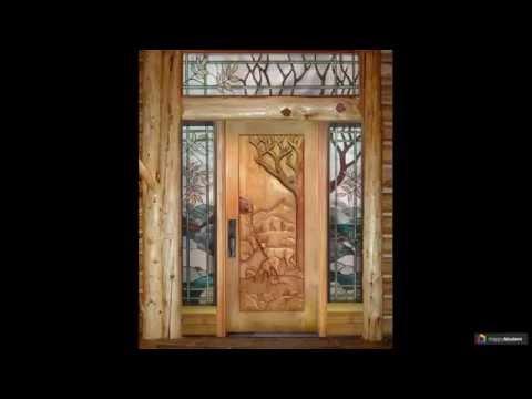 Двери деревянные входные: 59 надежных решений