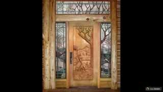 видео Деревянные входные двери