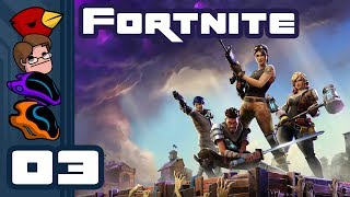 Let's Play Fortnite [Multiplayer] - PC Gameplay Part 3 - Up, Up, And Awww...