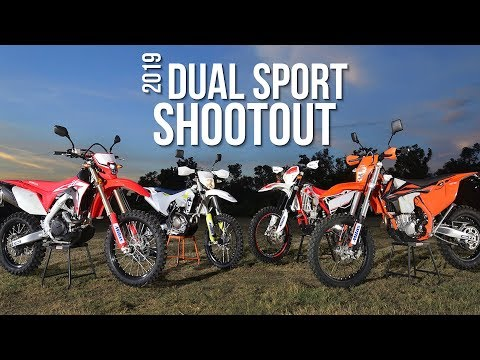 2019 Dual Sport Shootout - Dirt Bike Magazine