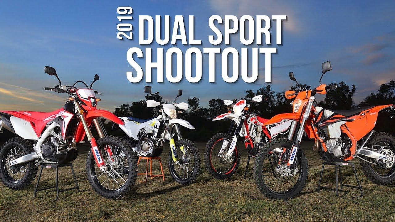 2019 Dual Sport Shootout Dirt Bike Magazine Youtube