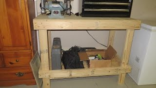 Build a Workbench For Under $40 - Be Your Own Handyman @ Home
