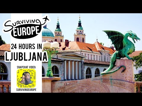 24 Hours in Ljubljana with Surviving Europe (SnapChat)