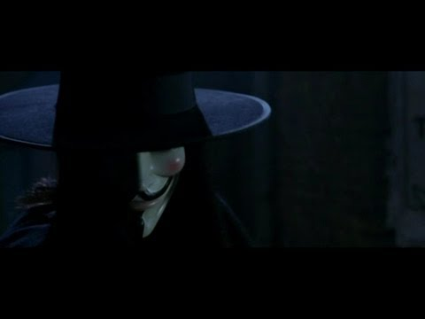 V For Vendetta: Spare the rod.