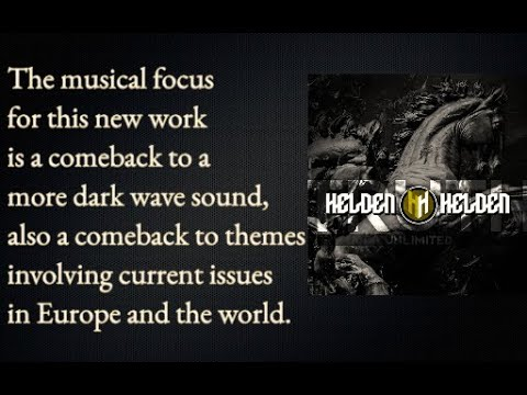 Helden Helden - Truth Unlimited [Darkwave/Post rock Album]