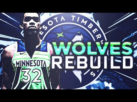 5 90+ OVERALLS!?!? REBUILDING THE MINNESOTA TIMBERWOLVES!! N