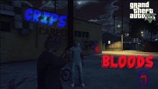 GTA 5 Crips & Bloods Part 5 [HD]