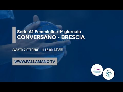 Serie A1F [1^]: CONVERSANO - BRESCIA 30-24