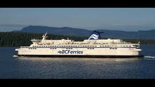Taking a tour on the bridge of BC Ferries 2015