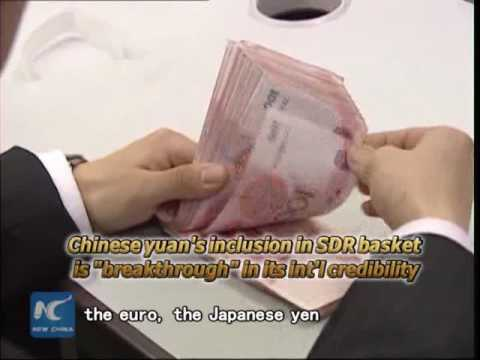 Chinese yuan's inclusion in SDR basket enhances int'l credibility: analyst