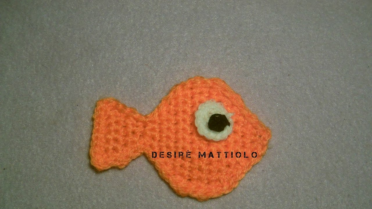 pesciolino con pesce papà ad amigurumi (2) - magiedifilo.it punto ... | 720x1280