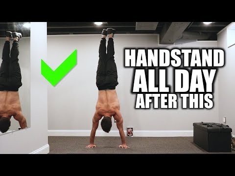 Can't Handstand For Long? Exercises You Are Missing