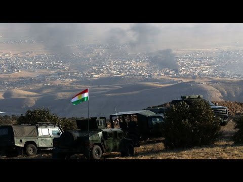 Battle for Sinjar: Kurdish fighters enter Islamic state group-held city