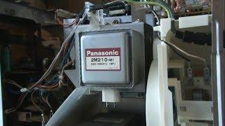 измерение мощности СВЧ и замена магнетрона в микроволновке Bosh