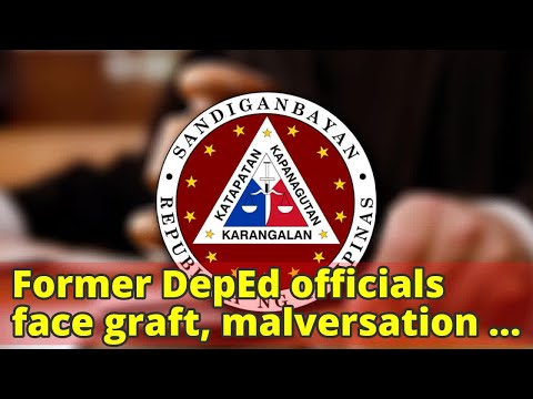 Former DepEd officials face graft, malversation charges over P6-M public funds mess
