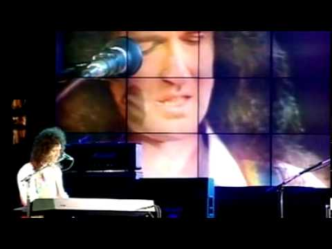 Queen    Too Much Love Will Kill You   Freddie Mercury Tribute Concert  xvid