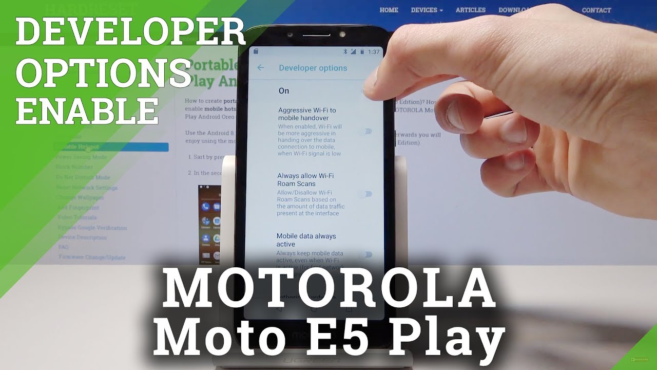 How to Add Fingerprint in Motorola Moto E5 Play – Set Up Fingerprint Unlock  Method