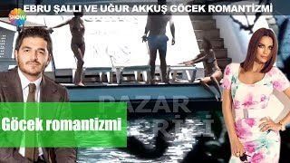 Ebru Şallı ve Uğur Akkuş'un Göcek romantizmi