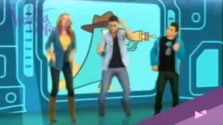 Las Estrellas de Disney Channel bailando para el Día del Ornitorrinco- Que divertida es la O.S.B.A