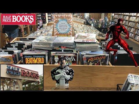 Half Price Books Comic Book Haul 104 | Bundles of Value!