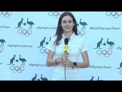 Aussie Youth Olympians try on Olympic kit for the first time