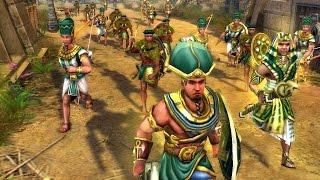 Войны древности спарта (Египтяне) #9 Концовка игры.