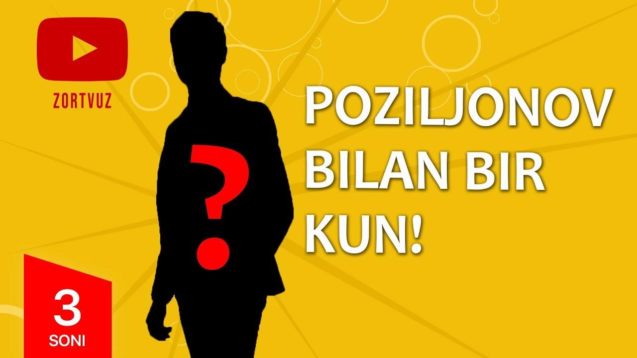 Poziljonov bilan bir kun 3-son  (22.03.2020)