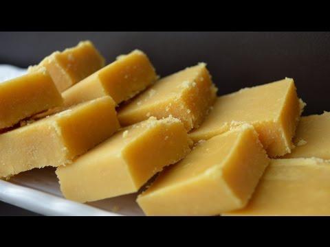 Ghee/Nei Mysore Pak - Diwali Festival Sweet Recipe (in Tamil with English Subtitles)