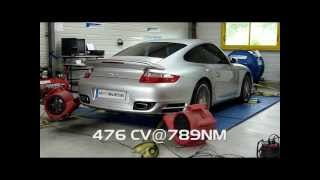 * reprogrammation moteur * 997 TURBO passage au banc 476 CV @ 789 Nm dyno by digiservices nantes