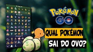 Gambar cover Pokémon GO - Qual Pokémon sai do Ovo? (Lista Download)