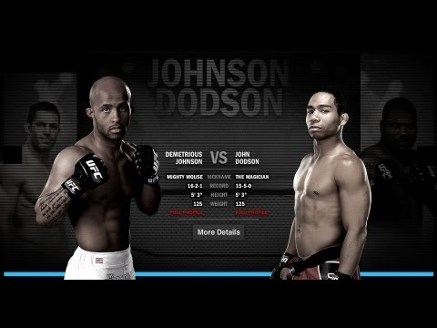 Demetrious Johnson vs John Dodson | UFC on FOX 6