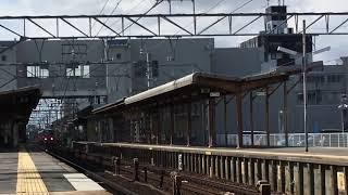 [出場試運転‼️]名鉄3500系未更新 3518f (試運転本宿行き)新安城駅 通過‼️
