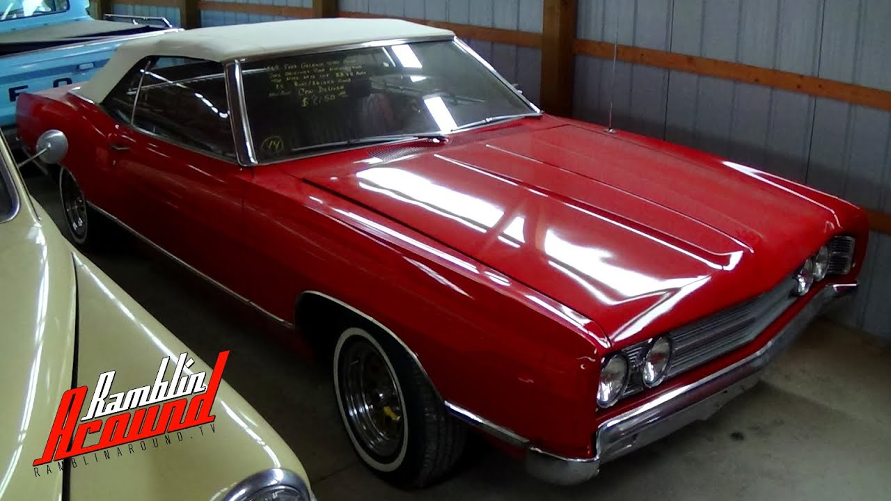 Ford galaxie 500 1969