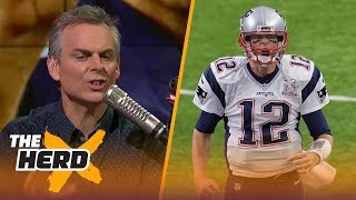 Colin Cowherd on reports Gisele asked Jay Feely to talk to Tom Brady about retiring | THE HERD